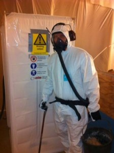 Asbestdräkt